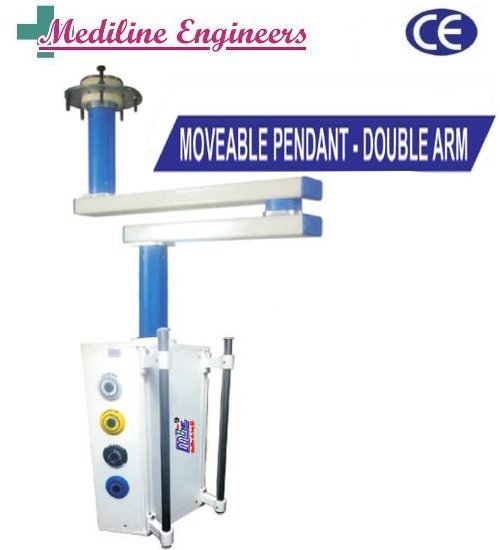 Double Arm Moveable Surgical Pendant