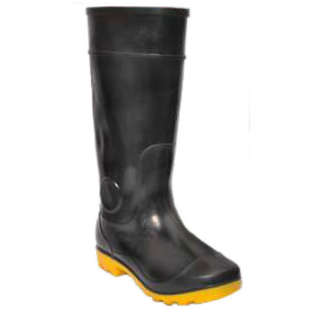 Safety Gumboots - Century -Black-Yellow