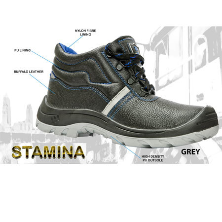 Safety Shoes - STAMINA GREY