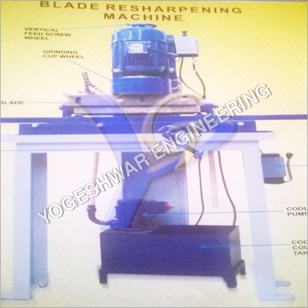 Blade Resharpening Machines