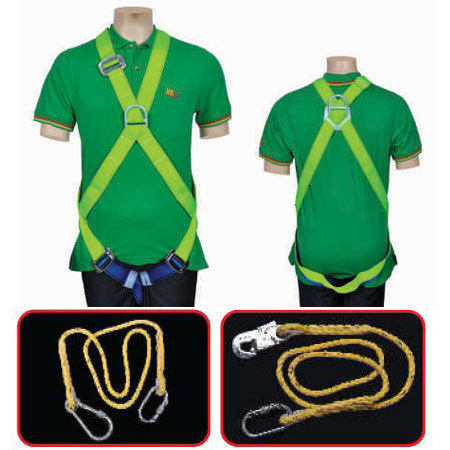 Full Body Safety Harness - Class D 1010