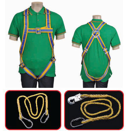 Full body Safety Harness - Class E 1bs 106