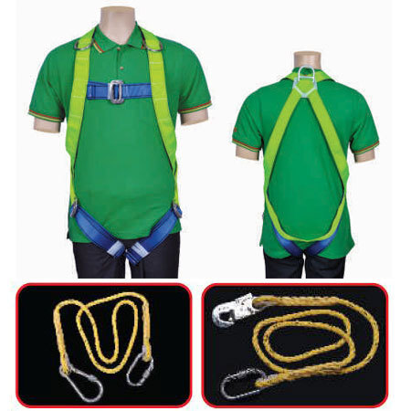 Full body Safety Harness - Class E Single Lanyard