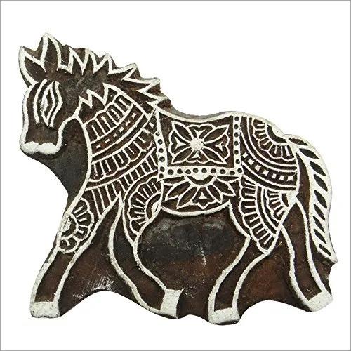 Horse Print Block