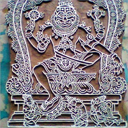 Narsimha Print Block