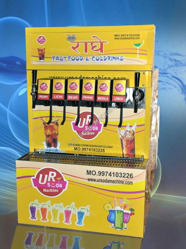 6+2 Soda Vending Machine Hydrabad