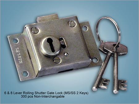 6&8 Lever Rolling Shutter Gate Lock