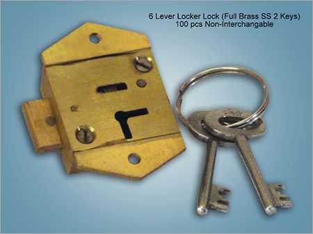 6 Lever Locker Lock