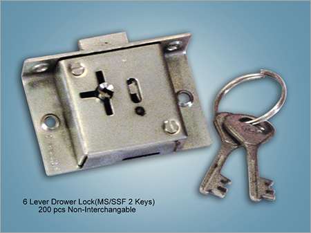 6 Lever Drower LockT019