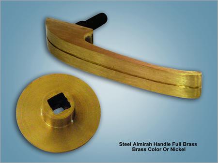 Steel Almirah Handle Full Brass