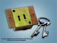 8 Lever Cabinet Lock