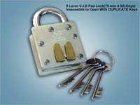 8 Lever C I D Pad Lock