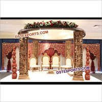 Hindu Wedding Traditional Mandap Set