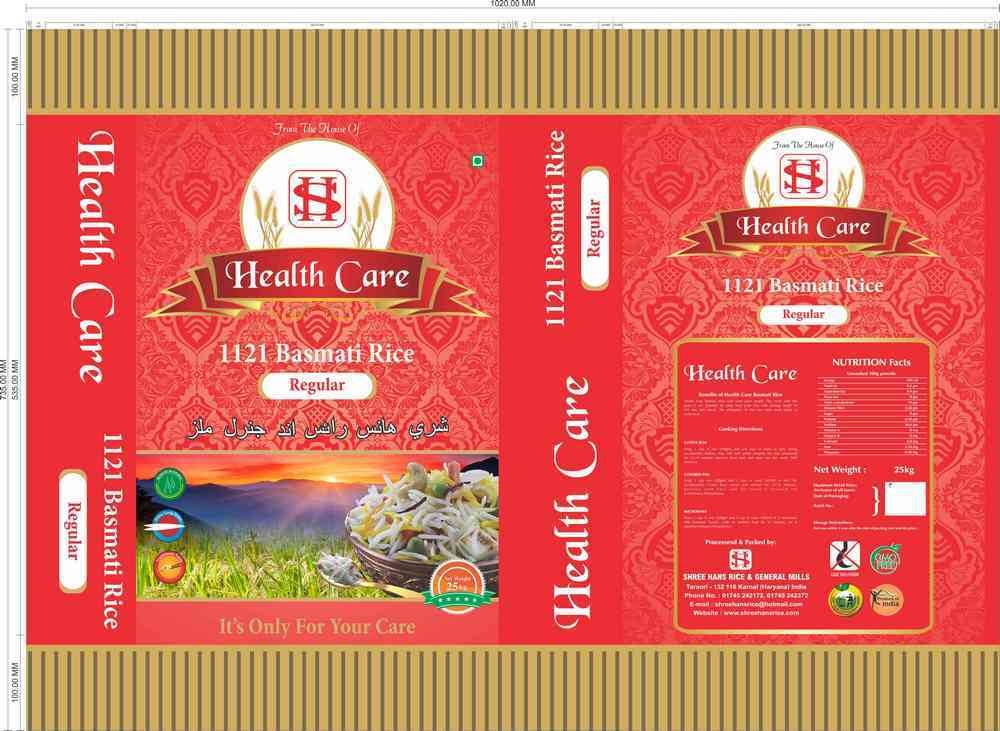 1121 Basmati Rice (Regular)