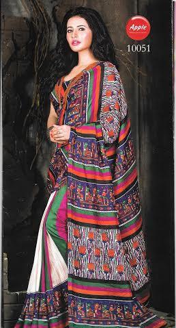 REALIYA--PURE BHAGALPURI SAREES-