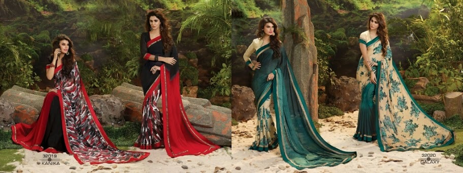 FASHIONISTA 2 IN 1--TRENDY GEORGETTE SAREES