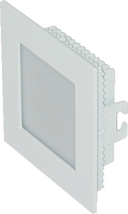 12w Sleek Backlit Panel Light Square