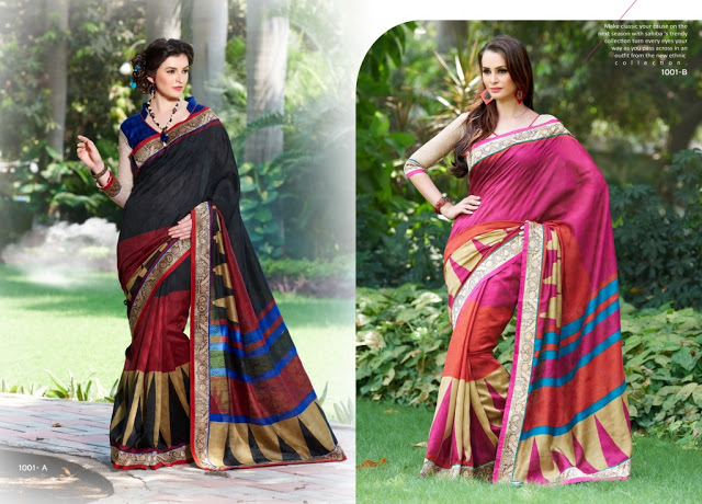 HI DESIGN--COTTON JACQUARD SAREES