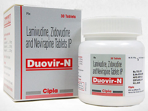 Lamivudine Zidovudine  And Nevirapine Tablets