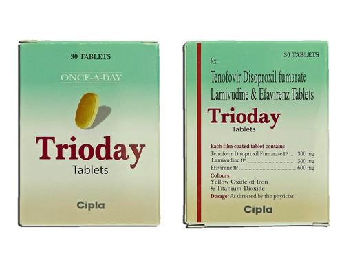 Tenofovir, lamivudine And Efavirenz Tab