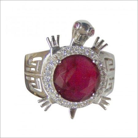 Designer Silver Finger Ring