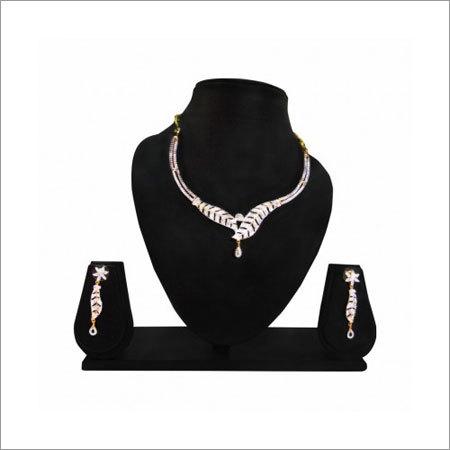 Fancy Diamond Necklace