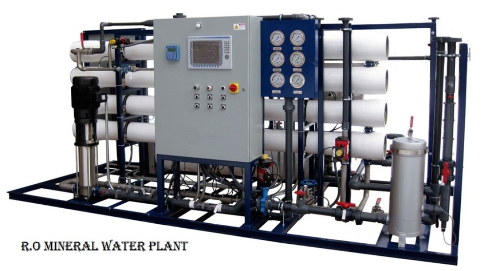 1000 Lph Mineral Water Plant