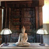 Sandstone Buddha Statues