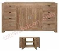 SIDEBOARD 8 DRAWER 2 DOORS