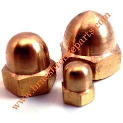 Silicon Bronze Cap Acorn Nuts