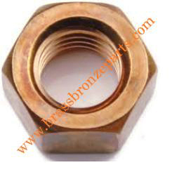 Silicon Bronze Hex Nuts