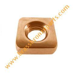 Silicon Bronze Square Nuts