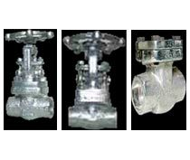 Forged Steel Gate, Globe, Check Valve