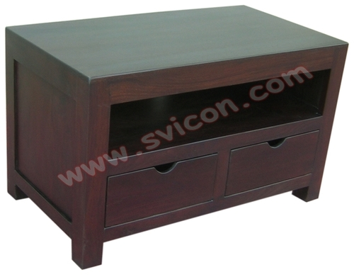 TV/DVD/VCD UNIT WITH 2 DRAWERS