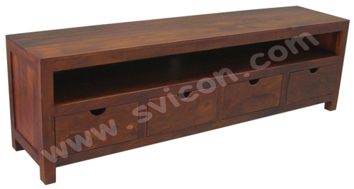TV/DVD/VCD UNIT 4 DRAWERS