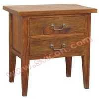 BEDSIDE CABINET 2 DRAWER