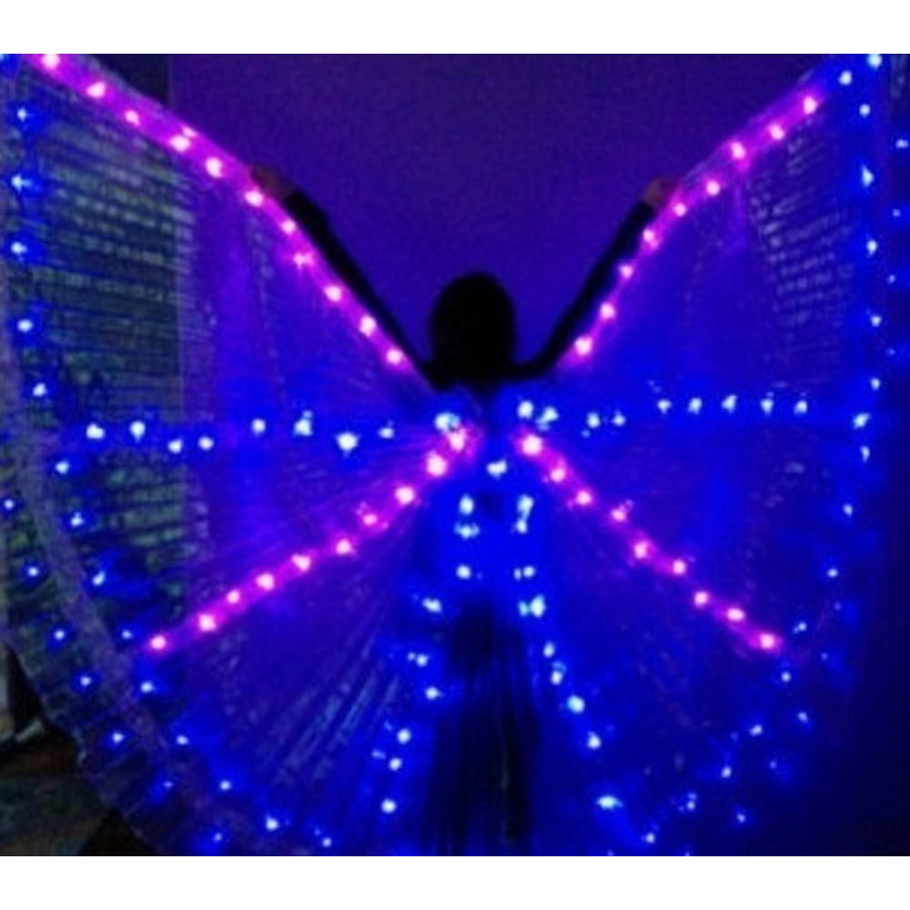 Blue Led Isis Wing