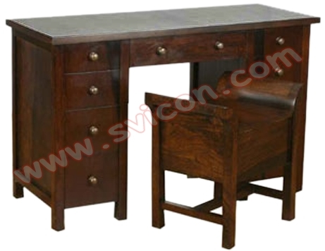 Wooden Office Table-SV07015