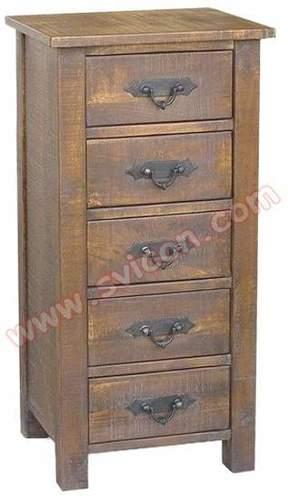 Wooden 5 Drawer Chest