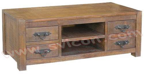WOODEN PLAZMA TV/DVD UNIT