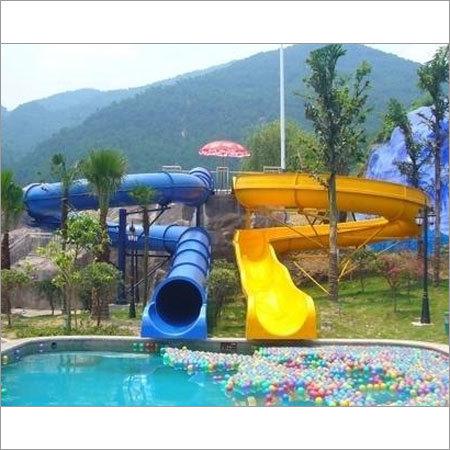Open Body Water Slide