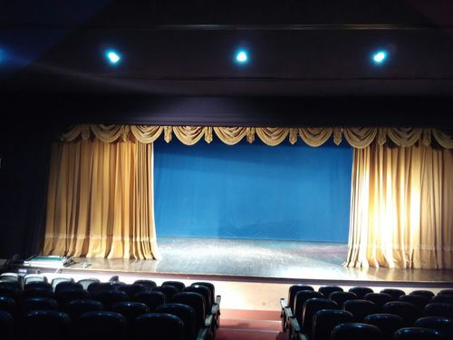 Stage Curtain Frills