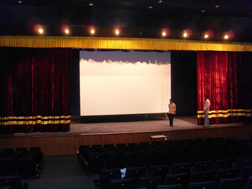 Stage Projector Screen
