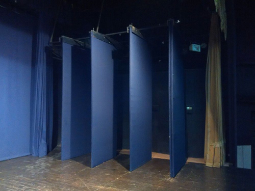 Stage Curtain Wings Backdrop
