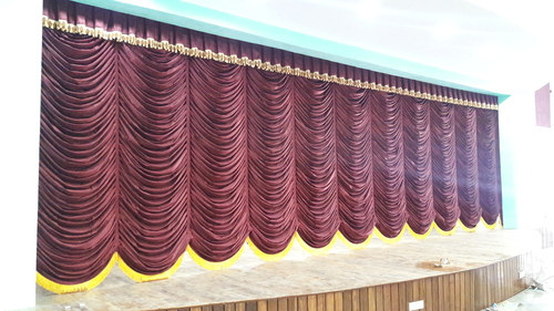 Motorized Vertical Curtain