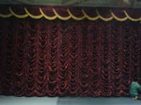 Motorized Vertical Stage Curtain