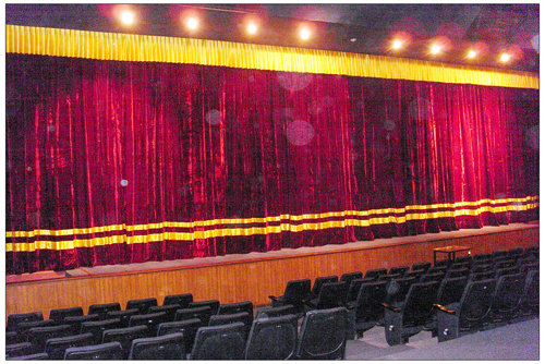 Velvet Stage Curtains