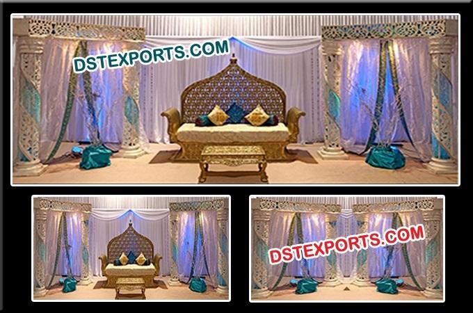 Jodha Akber Stage Set Decorations