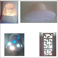 Orion Series Indoor - Wall Lamps - GYPSUM