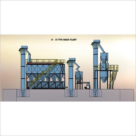 8 - 15 TPH Mash Plant